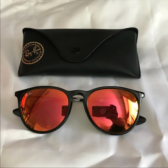 240c826530 Ray-Ban Erica Remix Orange Mirrored Sunglasses. M 5b4b5cb59fe486de255037a8